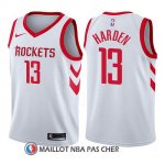 Maillot Enfant Houston Rockets James Harden Association 2017-18 13 Blanc