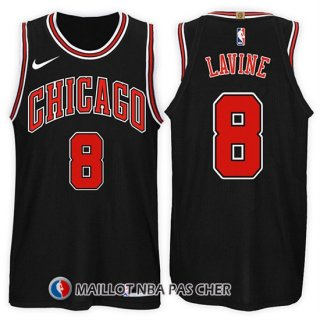 Maillot Chicago Bulls Zach Lavine Statement 2017-18 8 Noir