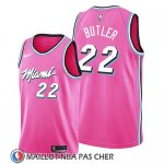 Maillot Miami Heat Jimmy Butler Earned 2019 Rosa