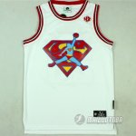 Maillot Superman Flightman #23 Blanc