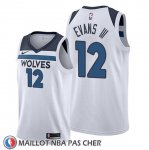 Maillot Minnesota Timberwolves Jacob Evans Iii Association 2019-20 Blanc