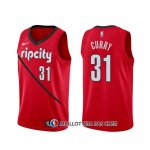 Maillot Portland Trail Blazers Seth Curry Earned Rouge