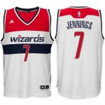 Maillot Wizards Jennings 7 Blanc