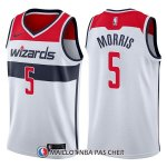 Maillot Washington Wizards Markieff Morris Association 5 2017-18 Blanc