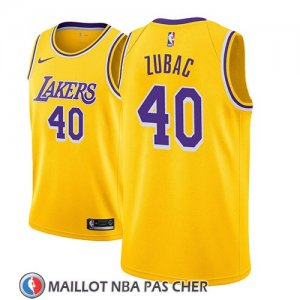 Maillot Los Angeles Lakers Ivica Zubac Icon 2018-19 Or