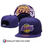 Casquette Los Angeles Lakers 9FIFTY Snapback Volet