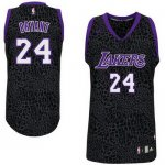 Maillot Crazy Light Leopard Lakers Bryant 24 Noir