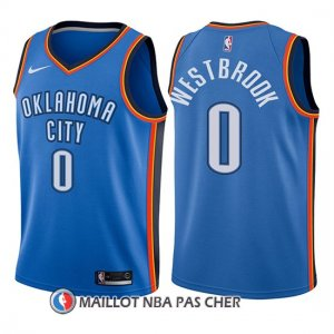 Maillot Enfant Oklahoma City Thunder Russell Westbrook Icon 2017-18 0 Bleu