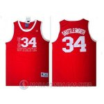 Maillot NBA Film Shuttlesworth 34# Rouge