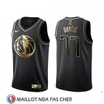 Maillot Golden Edition Dallas Mavericks Luka Doncic Noir