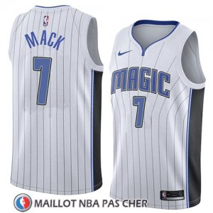 Maillot Orlando Magic Shelvin Mack No 7 Association 2018 Blanc