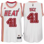 Maillot Retro Heat Rice 41 Blanc