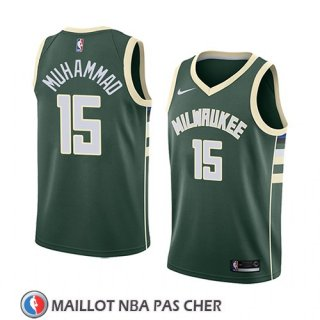 Maillot Milwaukee Bucks Shabazz Muhammad No 15 Icon 2018 Vert