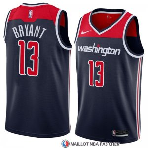 Maillot Washington Wizards Thomas Bryant Statement 2018 Noir