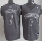 Maillot Johnson Brooklyn Nets #7 Gris