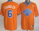 Maillot Chandler New York Knicks #6 Orange