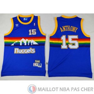 Maillot Nuggets Anthony #15 Bleu