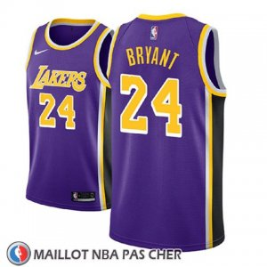 Maillot Enfant Los Angeles Lakers Kobe Bryant No 24 Statement 2018 Volet