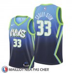 Maillot Dallas Mavericks Willie Cauley Stein Ville 2020 Bleu