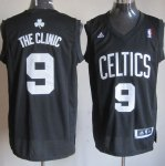 Maillot The Clinic Boston Celtics #9 Noir