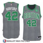 Maillot Noel 2018 Boston Celtics Al Horford No 42 Vert