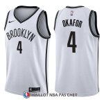 Maillot Brooklyn Nets Jahlil Okafor Association 4 2017-18 Blanc