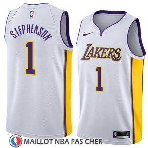 Maillot Los Angeles Lakers Lance Stephenson Association 2018 Blanc