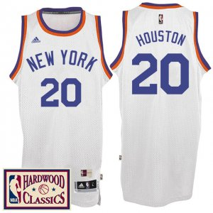 Maillot Retro 2016-17 Knicks Houston 20 Blanc