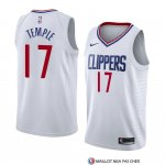 Maillot Los Angeles Clippers Garrett Temple Association 2018 Blanc