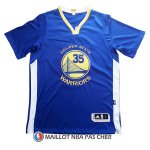 Maillot Authentique Manche Courte Golden State Warriors Duarant 35 Bleu