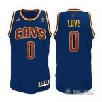 Maillot Bleue Love Cleveland Cavaliers Revolution 30
