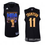 Maillot noir Thompson Campeon 2014 NBA