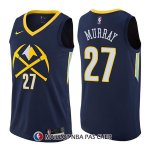 Maillot Denver Nuggets Jamal Murray Ciudad 27 2017-18 Bleu