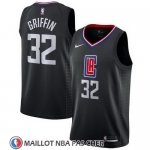 Maillot Clippers Blake Griffin 32 Statement 2017-18 Noir