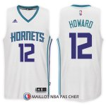 Maillot Charlotte Hornets Dwight Howard Home 12 2017-18 Blanc