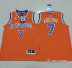 Maillot Enfant de Orangee Anthony New York Knicks Revolution 30