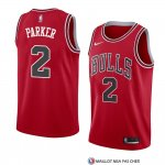 Maillot Chicago Bulls Jabari Parker Icon 2018 Rouge