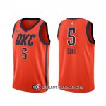 Maillot Oklahoma City Thunder Luguentz Dort Earned 2020 Orange