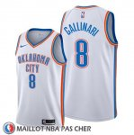 Maillot Oklahoma City Thunder Danilo Gallinari Association Blanc