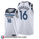 Maillot Minnesota Timberwolves James Johnson Association 2019-20 Blanc