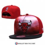 Casquette Chicago Bulls 9FIFTY Snapback Noir Rouge