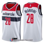Maillot Washington Wizards Ian Mahinmi Association 28 2017-18 Blanc