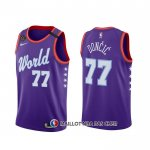 Maillot 2020 Rising Star Luka Doncic World Volet