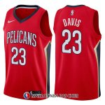 Maillot New Orleans Pelicans Anthony Davis Statement 23 2017-18 Rouge