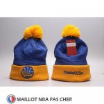 Bonnet Golden State Warriors Jaune Bleu2