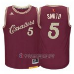 Maillot Cleveland Cavaliers Smith No?l #5 Rouge