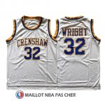 Maillot Pelicula Crenshaw Wright 32 Blanc