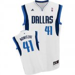Maillot Blanc Nowitzki Dallas Mavericks Revolution 30