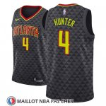 Maillot Atlanta Hawks R.j. Hunter No 4 Icon 2018 Noir