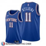 Maillot New York Knicks Frank Ntilikina Statement Bleu
